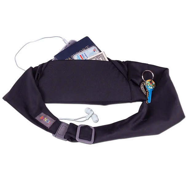 Large pocket belt, Black by BANDI wear