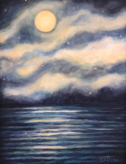 Full Moon Lake Boon by Sue Carlin