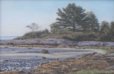 1st PLACE WINNER: Low Tide at Clark Island by Maryann Goblick