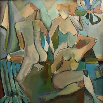 The Three Muses by Jodie Apeseche