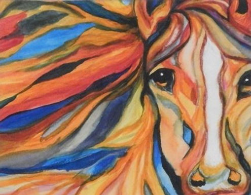 Flame by Genevieve Bagdis