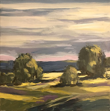 River Valley Landscape Series 9 by Bob Collins