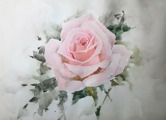 Zoom Online Watercolor Workshop with Michele Clamp - April 9th