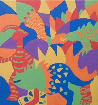 #10 Dino Mash by Candi Imming