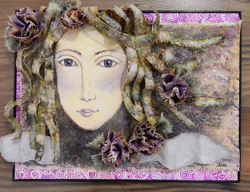 The Traveler by Eileen Bailey- 4th Place sold