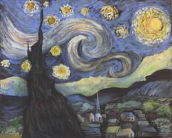 Starrynight, Van Gogh