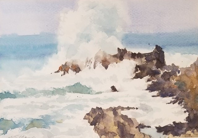 Seascape Moment by Michelle Clamp