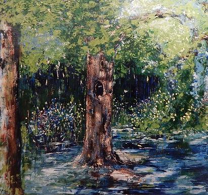 Watercalls & Cherry Trees by Yuvashree Kannan