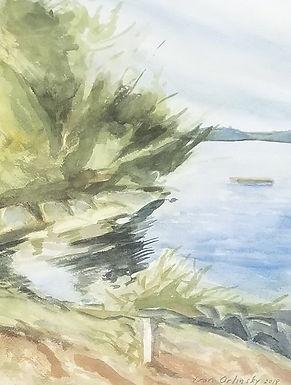 Highland Lake Maine by Ivan Orlinsky