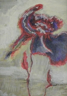 3rd PLACE WINNER: Kyla's Flower by Frank Bennett