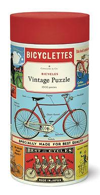 Cavallini Vintage Bicycles 1000 pc Puzzle