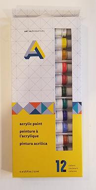 Art Alternative 12 color Acrylic Set