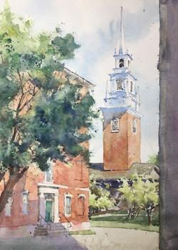 Harvard Yard by Michele Clamp