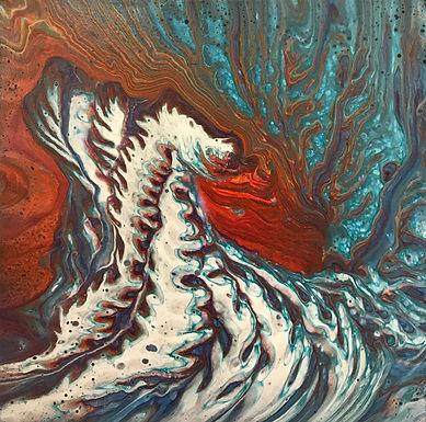 Japanese Waves by Jane Yates