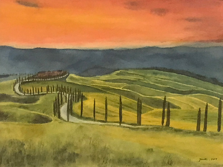Tuscany Revisited by Josette Kaplan