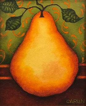 Pear 2 by Sue Carlin