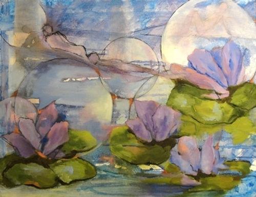 """""""Waterlilies"""" by Deborah Holt"""