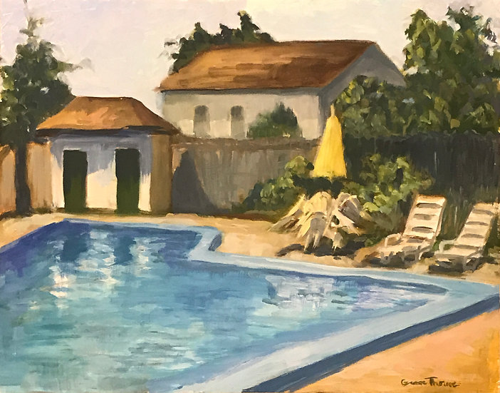 Harwichport Pool by Grace Thorne
