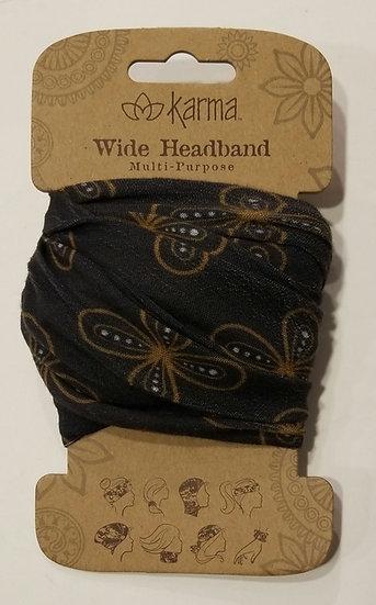 Karma Wide Headband - Modern Floral