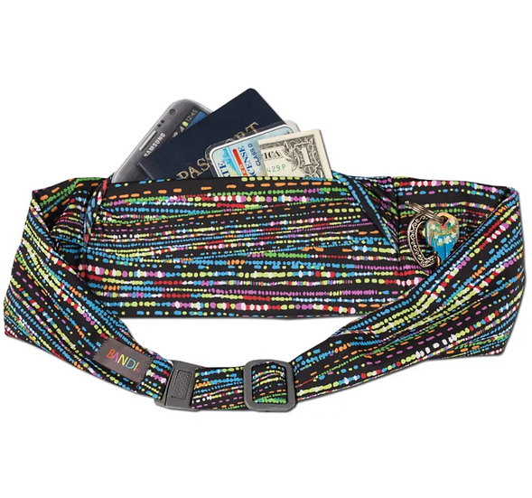 Large pocket belt, Confetti by BANDI wear