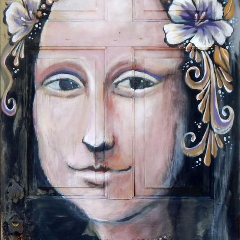 Original Mona Lisa by Bruce Collins