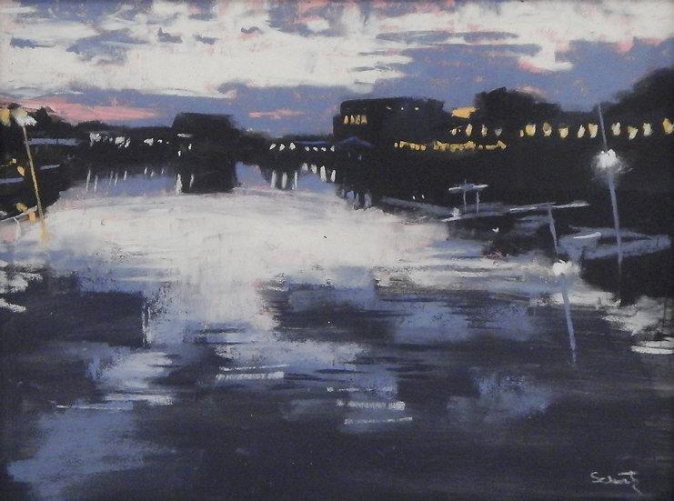 Notch Sunset by Janet Schwartz