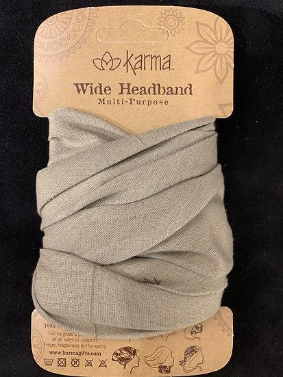 Karma Wide Headband - Sand