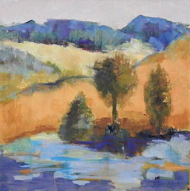 Hillside by Jan Durgin