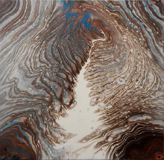 Paint Pour #23 by Jane Yates