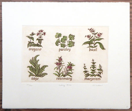 Cooking Herbs by RH Badeau