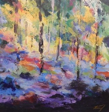 Forest Glow by Terry Kessel Myers Coney
