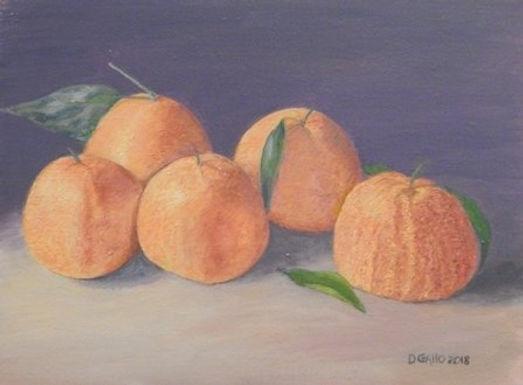 Mandarin Oranges by Diana Gallo