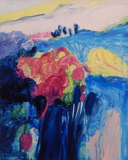 Landscape Bloom by Pamela Malcuit