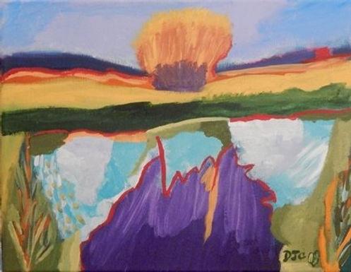 Purple Mist by Debra Cassidy