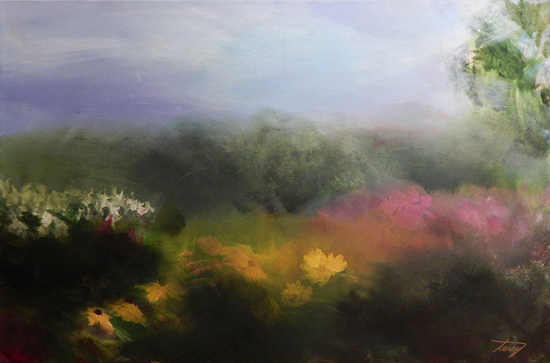 Spring Meadow by Terry Kessel Myers Coney