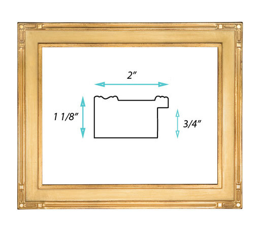 "Gallery Frame #118 - 2"" Gold"