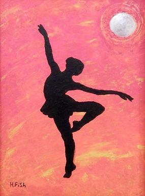 Mystery Dancer by Hannah Fish