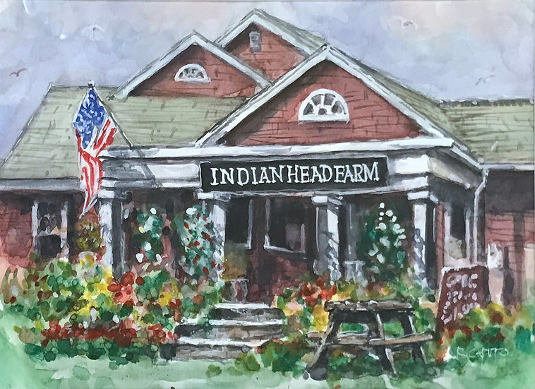 Indian Head Farm by Ralph Caputo