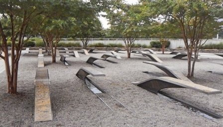 Pentagon 9-11 Memorial by Henry Febo