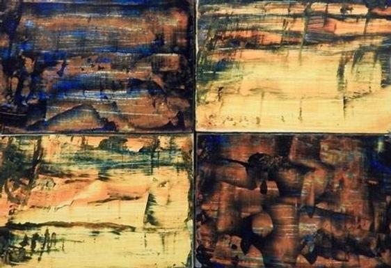 Block 1, 2, 3, 4 by Elisa Sweig