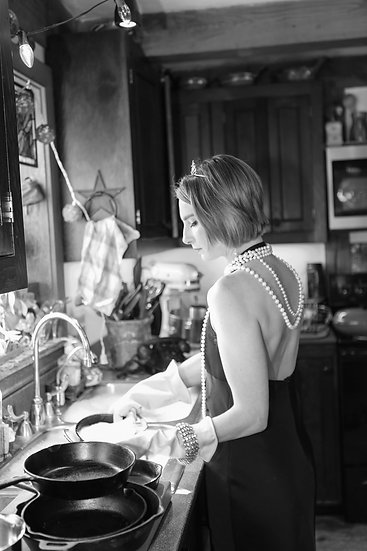 Washing the Dishes by Chelsea Bradway