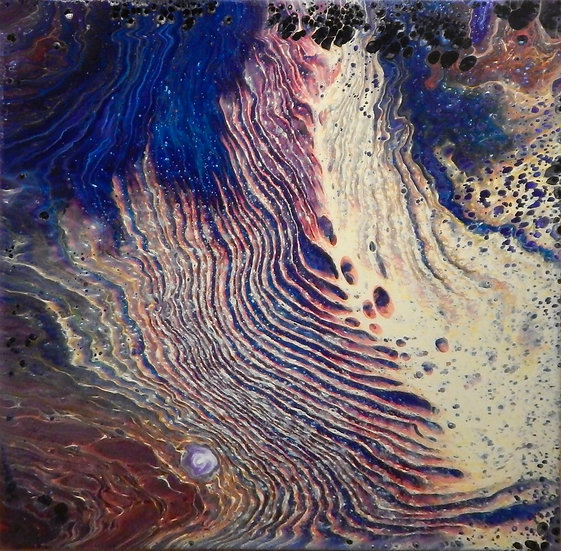 Paint Pour #14 by Jane Yates - SOLD