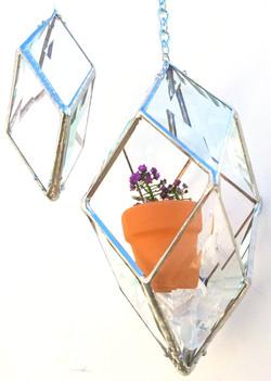 Rainbow Prism & Plant Holder