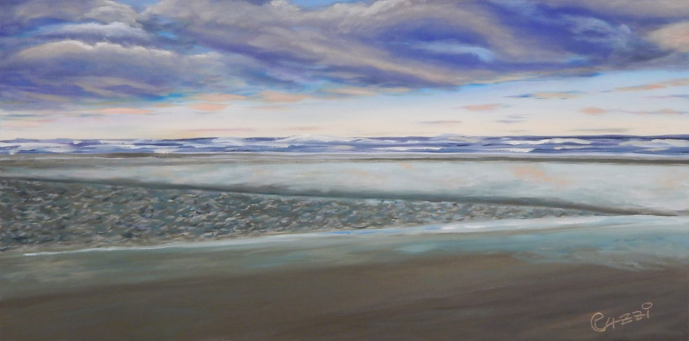 Gonubie Beach by Carol Levey