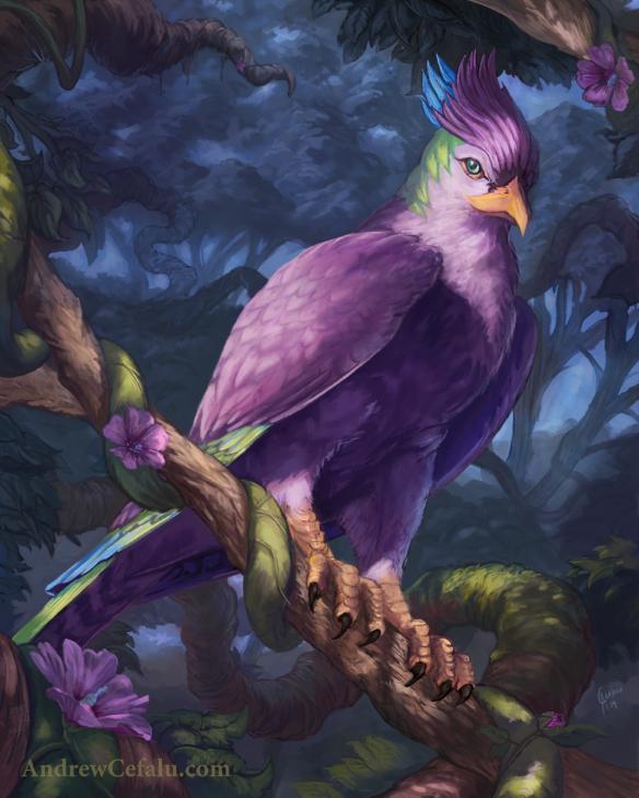 Mystic Bird by Andrew