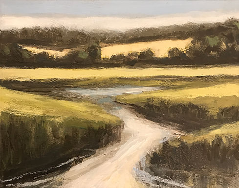 River Valley Landscape Series 2 by Bob Collins