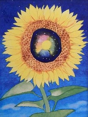Universe Flower by Michael Ferriter