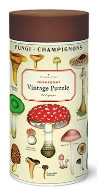 Cavallini & Co Vintage Mushrooms 1000 pc Puzzle