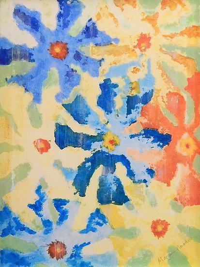 Pinwheel Flowers by Maryann Amodeo