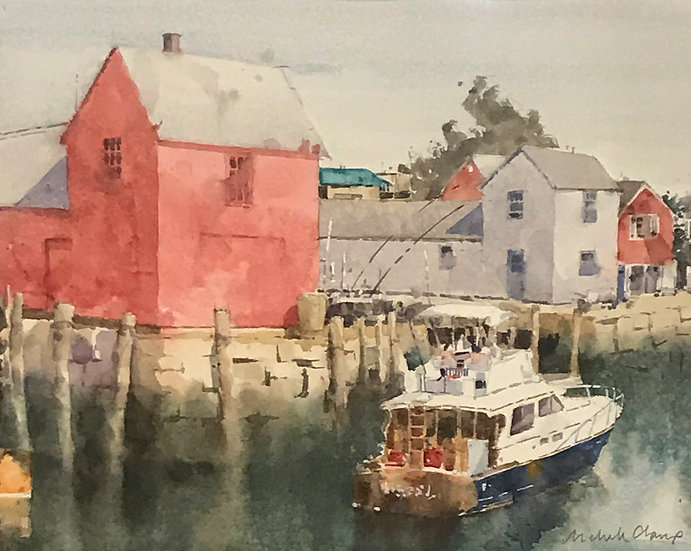 Motif Number 1, Rockport by Michelle Clamp - People's Choice Award